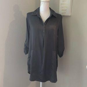 Allura Charcoal Gray Tunic